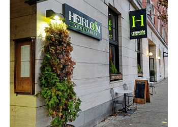 Vancouver vegetarian restaurant HEIRLOOM