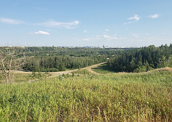 Edmonton hiking trail HERMITAGE PARK