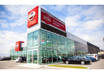 Laval car dealership HGrégoire Nissan Vimont