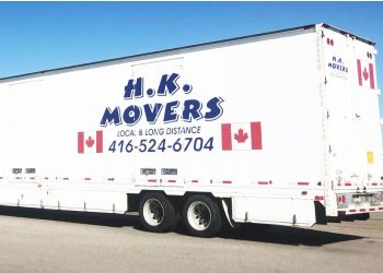 Brampton moving company H.K. Movers