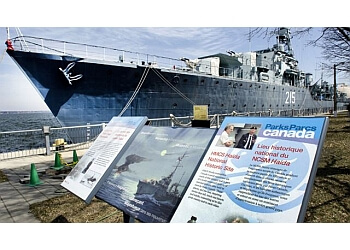 Hamilton places to see HMCS Haida