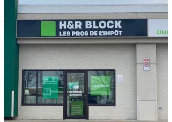 Quebec tax service H&R BLOCK