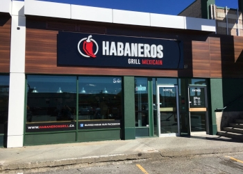 Sherbrooke mexican restaurant Habaneros Grill Mexicain