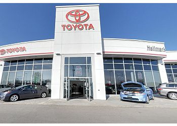 Orangeville car dealership Hallmark Toyota