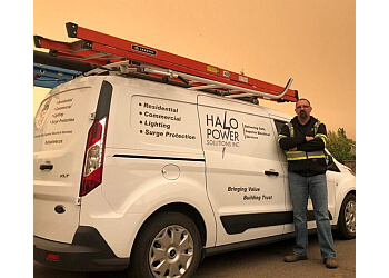Sherwood Park electrician Halo Power Solutions Inc.