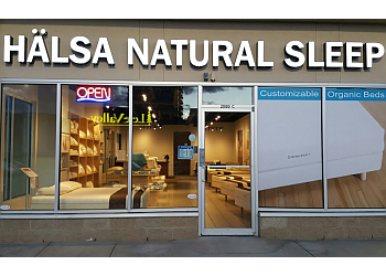 Kelowna mattress store Halsa Natural Sleep