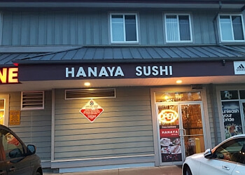 Surrey japanese restaurant Hanaya Japanese Restaurant