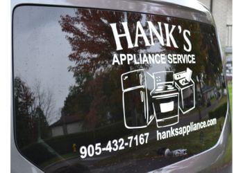 Oshawa appliance repair service Hank's Appliance Service