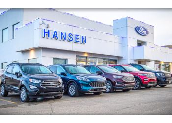 Grande Prairie car dealership Hansen Ford