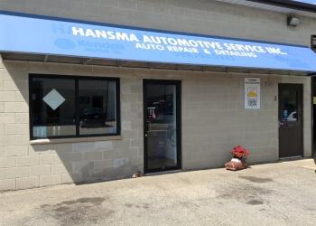 Kitchener car repair shop Hansma Automotive Service Inc.