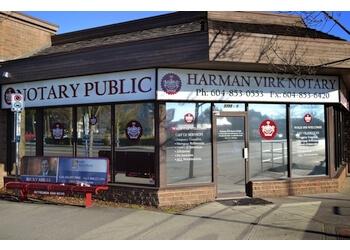 Abbotsford notary public Harman Virk Notary Public