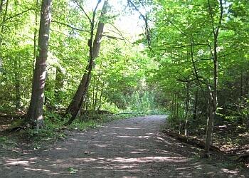 Oshawa hiking trail Harmony Valley Conservation Area