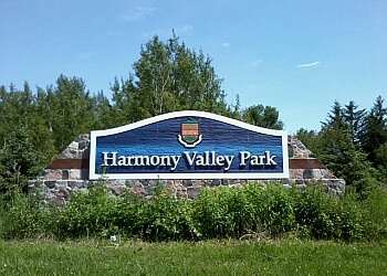 Oshawa hiking trail Harmony Valley Park Trail