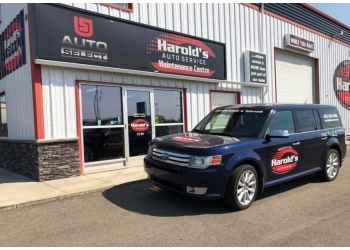 Lethbridge car repair shop Harold's Auto Service