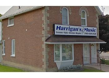 Kawartha Lakes music school Harrigan's Music