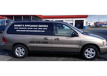 Langley appliance repair service Harry's Appliance Service