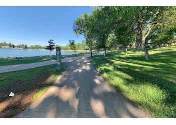 Lethbridge public park Henderson Lake Park
