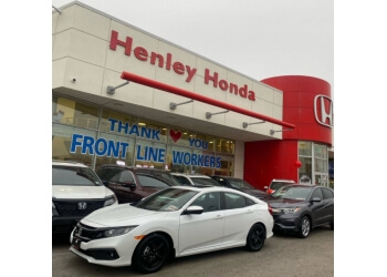 St Catharines car dealership Henley Honda