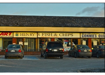 Mississauga fish and chip Henry's Fish & Chips
