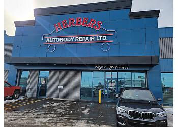 Edmonton auto body shop Herbers autobody repair