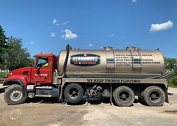 Windsor septic tank service Hernandez pipe and drain experts