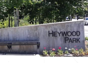North Vancouver public park Heywood Park