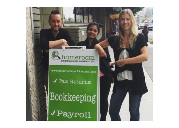 Vancouver tax service Homeroom Small Business Solutions Inc.