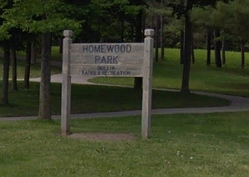 Orillia public park Homewood Park