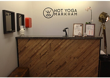 Markham yoga studio Hot Yoga