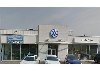 Prince George car dealership Hub City Volkswagen