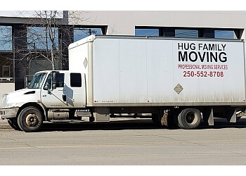 Prince George moving company Hug Family Moving