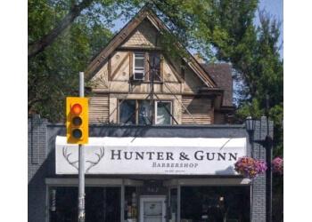 Winnipeg barbershop Hunter & Gunn