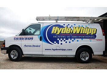 Orangeville hvac service Hyde-Whipp Heating & Air Conditioning Inc.