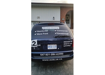 Brampton window cleaner In2Blue Window Cleaning Company