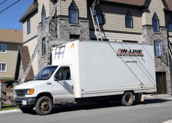 Fredericton gutter cleaner In-Line Eavestroughing