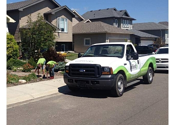 Lethbridge lawn care service Infinity Property Care