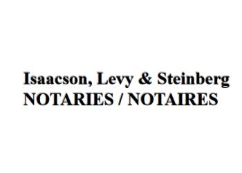 Dollard des Ormeaux notary public  Isaacson, Levy & Steinberg