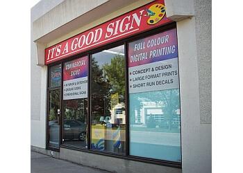 Burlington sign company It's A Good Sign Inc.