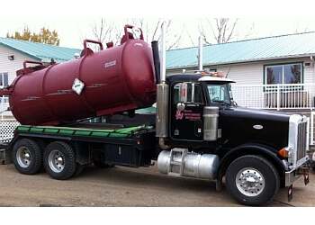 Airdrie septic tank service J & A Kendze Septic Services
