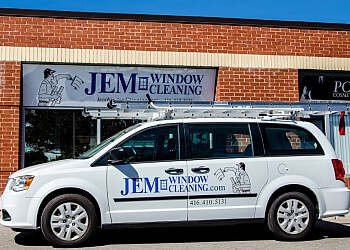 Mississauga window cleaner JEM Window Cleaning
