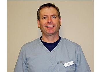 Newmarket chiropodist JONATHON CLARKE, DCH