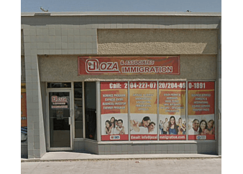 Winnipeg immigration consultant J. Oza & Associates Immigration Services Corp.