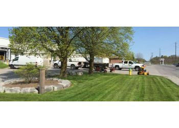 Barrie lawn care service J T Property Maintenance