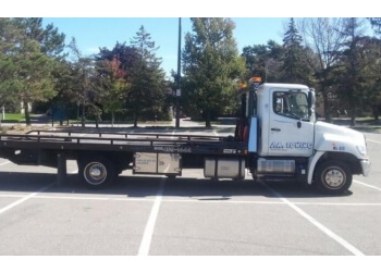 Brampton towing service J a Towing