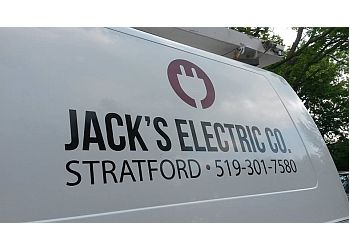 Stratford electrician Jack's Electric Co.