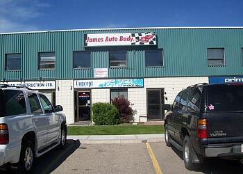 Calgary auto body shop James Auto Body