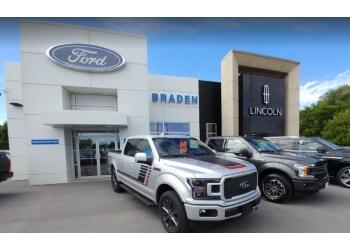 Kingston car dealership James Braden Ford