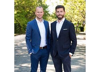 New Westminster real estate agent James Garbutt & Denny Dumas