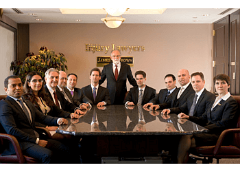 Edmonton personal injury lawyer James H. Brown & Associates