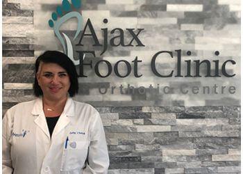 Ajax chiropodist Jana Charyk, D.Ch. - Ajax Foot Clinic & Orthotic Centre